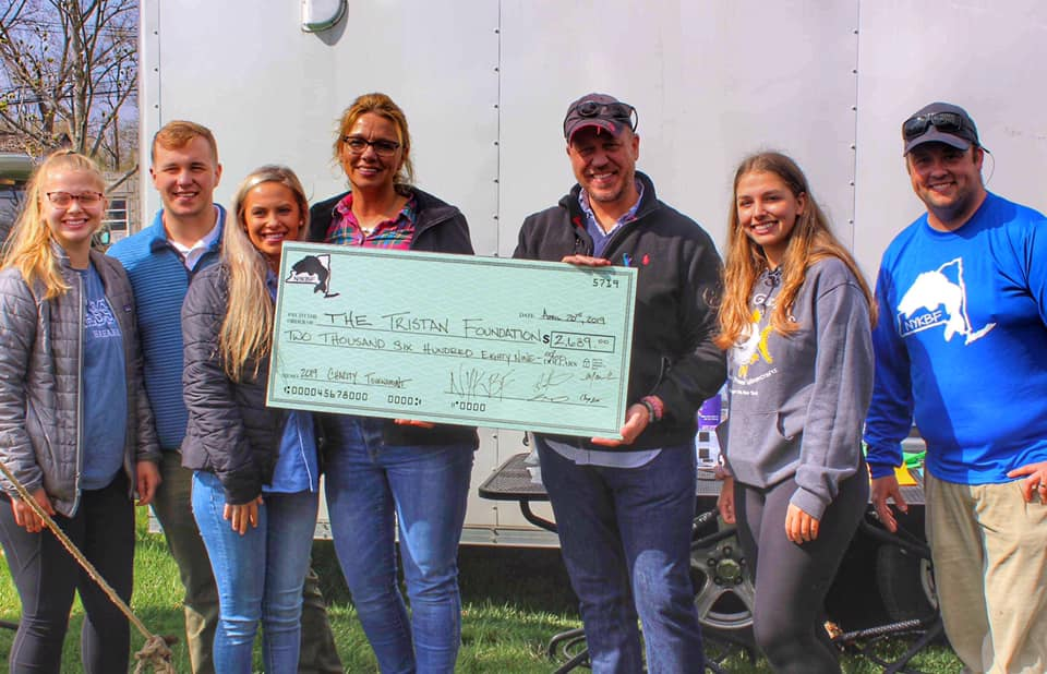 Kayak fishing tournament raises funds for Tristan Foundation