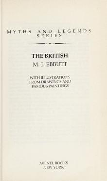 Cover of: The British   Ebbutt, M. I.