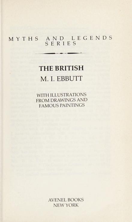 The British by Ebbutt, M. I.