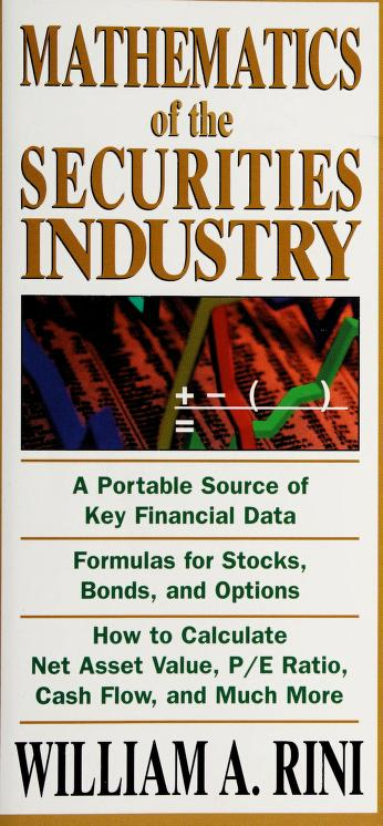 Mathematics of the Securities Industry by