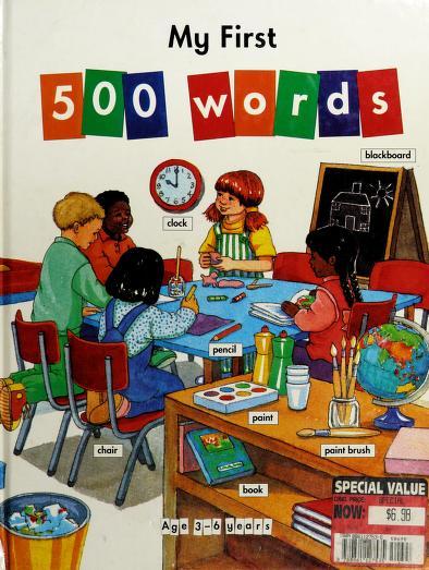 My First 500 Words by Stephanie Ryder