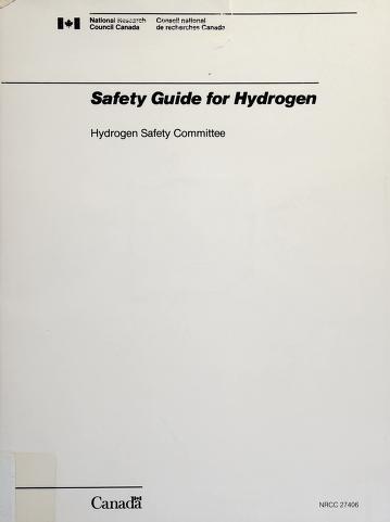 Cover of: Safety guide for hydrogen   K. M. Kalyanam