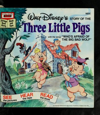 Cover of: The three little pigs | The Walt Disney Co